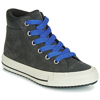Converse CHUCK TAYLOR ALL STAR PC BOOT BOOTS ON MARS SUEDE HI boys's Children's Shoes (High-top Trainers) in Black. Sizes available:9.5 toddler,10 kid