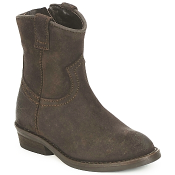 Hip TINOUI boys's Children's Mid Boots in Brown. Sizes available:5.5 toddler
